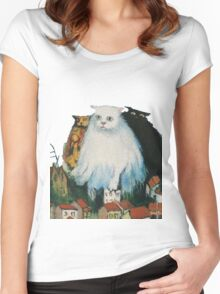 Fat Cats Women's Fitted Scoop T-Shirt