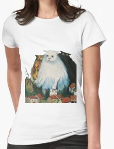 Fat Cats Womens Fitted T-Shirt