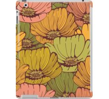 Vintage poppy flowers iPad Case/Skin