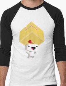 Cube Get! Men's Baseball ¾ T-Shirt