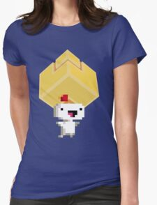 Cube Get! Womens Fitted T-Shirt