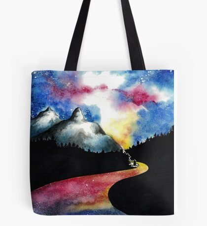 Galaxy Road Tote Bag