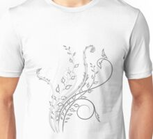 Abstract Plant Sketch Unisex T-Shirt