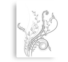 Abstract Plant Sketch Canvas Print