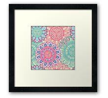 Floral ornament Framed Print