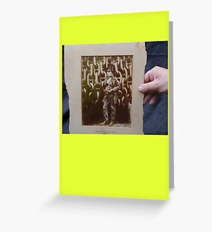 Brunel photo proof Greeting Card