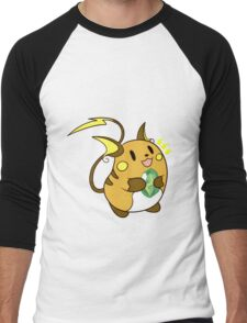 Raichu Men's Baseball ¾ T-Shirt