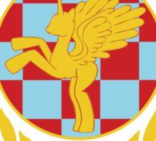 Equestria Alicorns Football Club Sticker