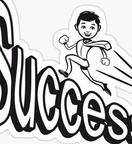 success Sticker