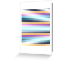 Happy Happy Stripes Greeting Card