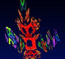 Fractal - Gombay Dancer by Susan Savad