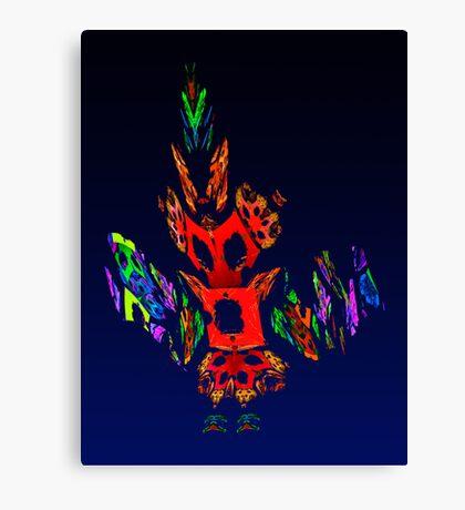 Fractal - Gombay Dancer Canvas Print