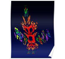 Fractal - Gombay Dancer Poster