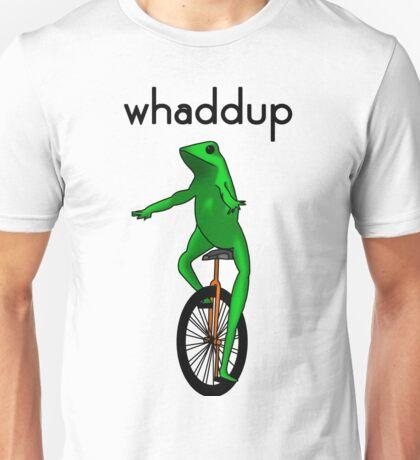 """Dat Boi Meme V.3 """"Whaddup"""" Unisex T-Shirt"""