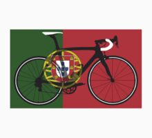 Bike Flag Portugal (Big - Highlight) Kids Tee