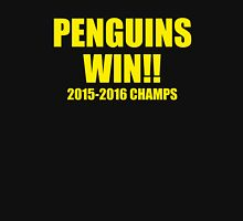 Penguins Win! Unisex T-Shirt