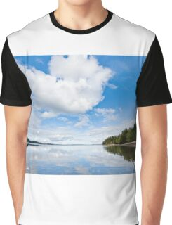 Clouds Reflected in Puget Sound Graphic T-Shirt