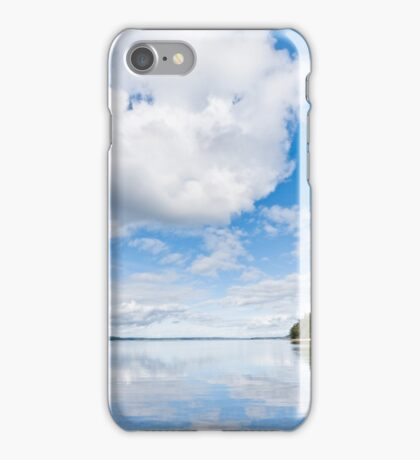 Clouds Reflected in Puget Sound iPhone Case/Skin