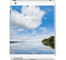 Clouds Reflected in Puget Sound iPad Case/Skin