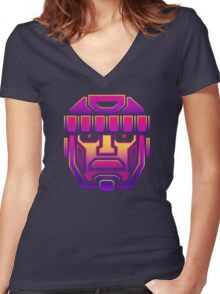 SENTINELS IN DISGUISE Women's Fitted V-Neck T-Shirt