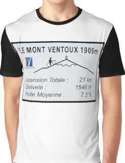 Mont Ventoux Cycling Graphic T-Shirt