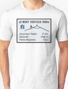 Mont Ventoux Cycling Unisex T-Shirt