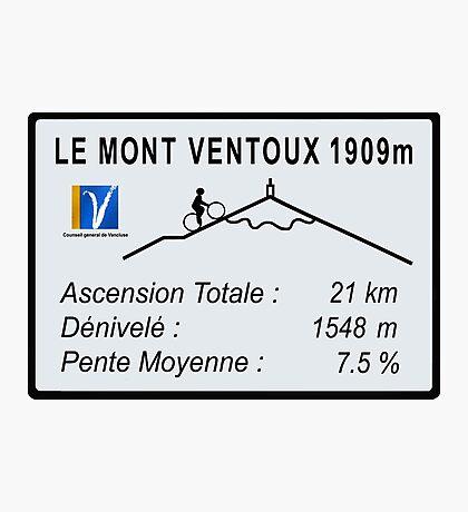 Mont Ventoux Cycling Photographic Print