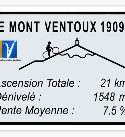 Mont Ventoux Cycling Sticker