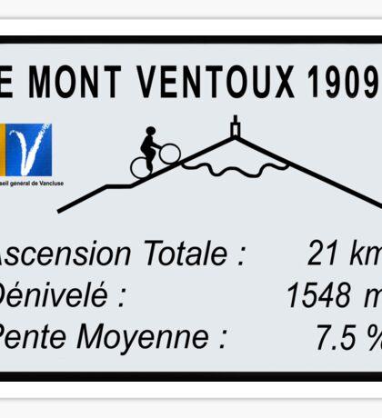Mont Ventoux Cycling Sticker