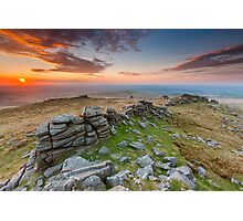 West Mill Tor Photographic Print