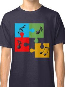 Puzzle music Classic T-Shirt