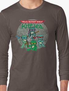 Hello Mutant Ninja Kitties Long Sleeve T-Shirt