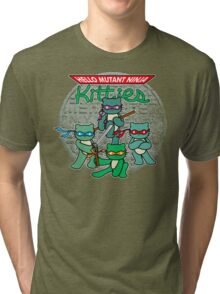 Hello Mutant Ninja Kitties Tri-blend T-Shirt