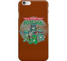 Hello Mutant Ninja Kitties iPhone Case/Skin