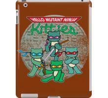 Hello Mutant Ninja Kitties iPad Case/Skin