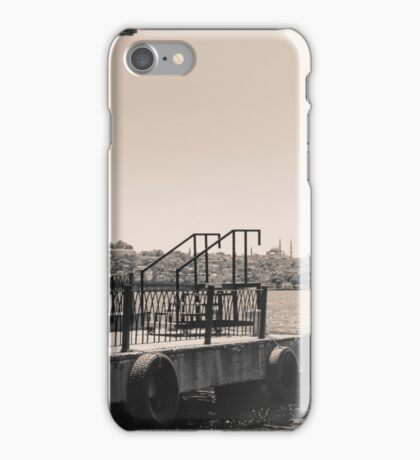 docks and sea iPhone Case/Skin