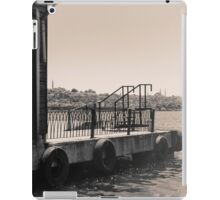 docks and sea iPad Case/Skin
