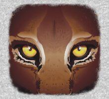 Wild Puma Eyes Kids Clothes