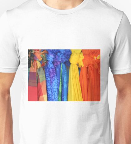 Colorful Fabrics Unisex T-Shirt