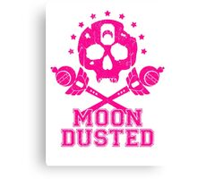 Moon Dusted / Pink Canvas Print