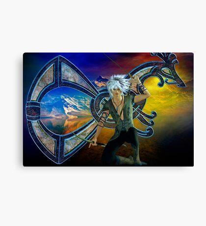 the norseman Canvas Print