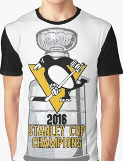 2016 Pittsburgh Penguins Stanley Cup Champions Graphic T-Shirt