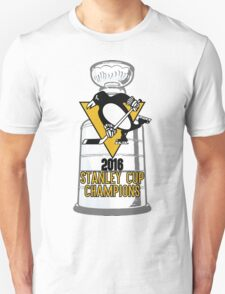 2016 Pittsburgh Penguins Stanley Cup Champions Unisex T-Shirt