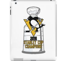 2016 Pittsburgh Penguins Stanley Cup Champions iPad Case/Skin