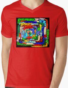 From the Center I Mens V-Neck T-Shirt