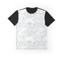 Seamless patterns with beautiful flowers Graphic T-Shirt