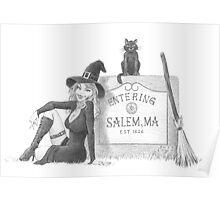 Entering Salem Poster