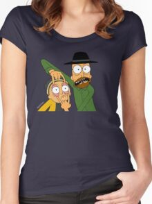 Walt and Jesse Women's Fitted Scoop T-Shirt