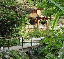 Japanese Tea Garden by YoungArt