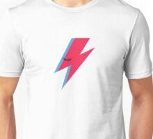 Aladdin Sane Lightning Bolt Unisex T-Shirt